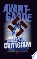 avant garde and criticism de vries jan beekman klaus